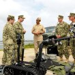 EOD team explains the MK II Talon robot.