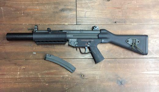 海外製リコイルショック電動ガン BOLT MP5SD5の修理をさせて頂きました