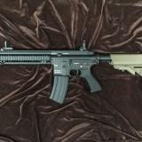 東京マルイ DEVGRUカスタム HK416D 次世代電動ガンの修理・カスタムをさせて頂きました