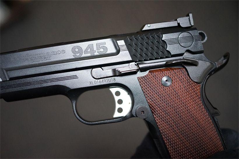 KSC S&W M945の側面
