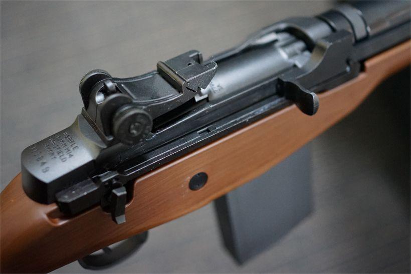 USライフル M14のボルト部分