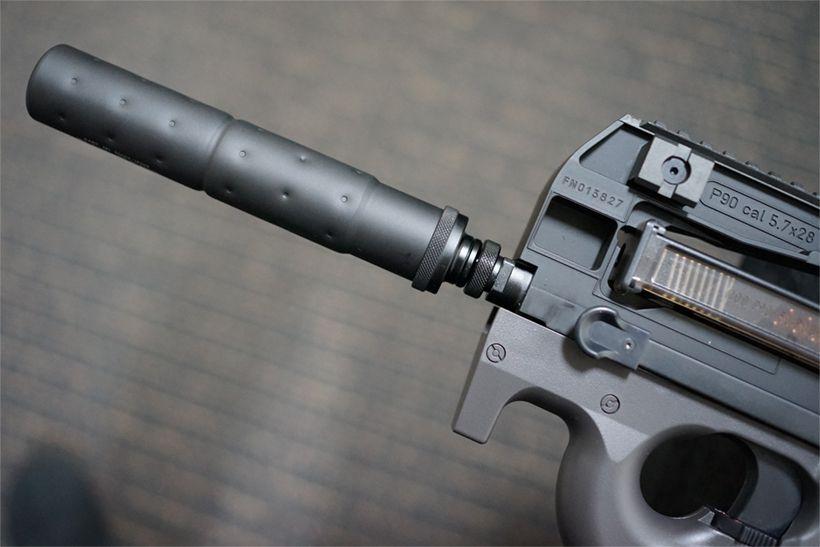 東京マルイ FN P-90TRのマズル