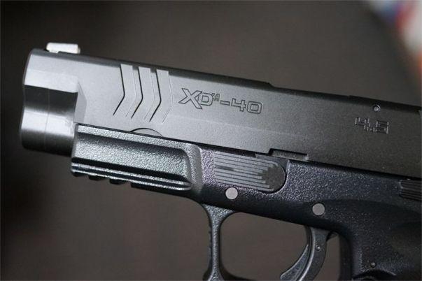XDM-40のスライド