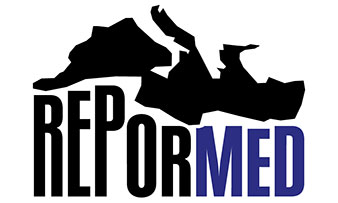 Logo ReporMed, réalisé par 6lettres