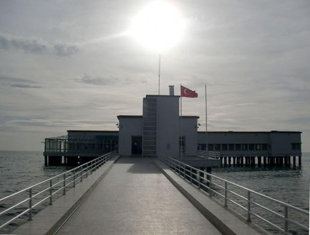 Au bord de la mer de Marmara, le yazlik d'Atatürk