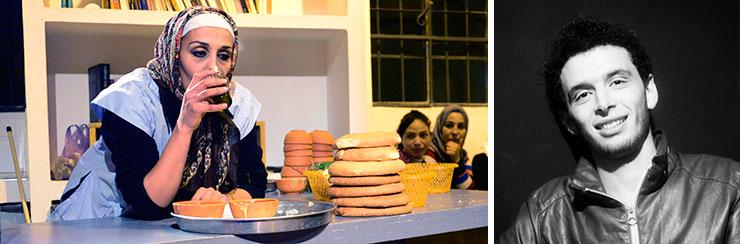 Pièce de théâtre Amchouta, jouée à Tabadoul (Tanger)