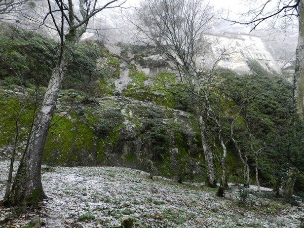 La grotte de la Sainte Baume.