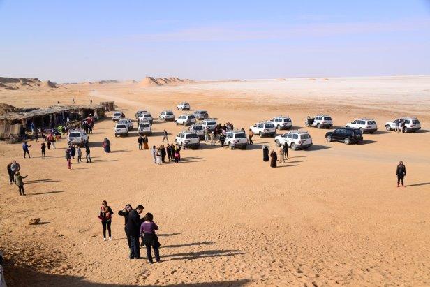 L'industrie touristique dans le désert de Tozeur