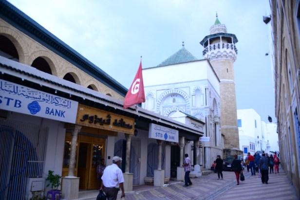 Minaret dans la médina tunisoise