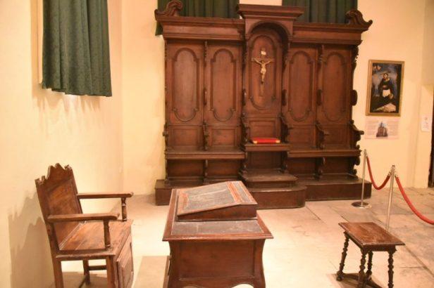 Salle d'audience de l'Inquisition