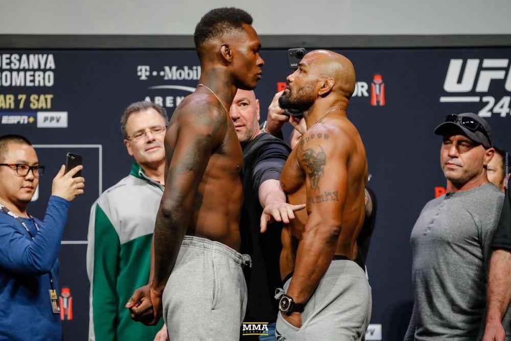 Israel Adesanya outpoints Yoel Romero to retain UFC title