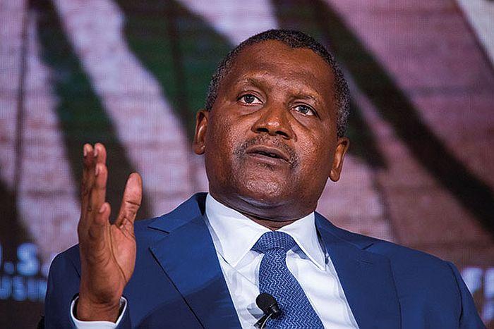 Aliko Dangote, Africa's richest man, has tested negative for coronavirus.
