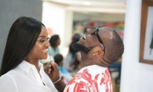 """Popular Nigerian music sensation, Davido announced that his """"celebrity chef"""" fiancee, Chioma has recovered from coronavirus and now tests negative"""
