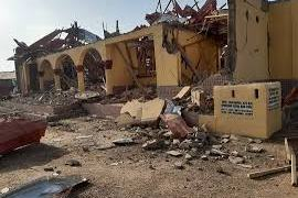 Convoy Transporting Explosives Explodes In Ondo Causing Havoc to 100 houses, school, churches akure