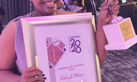 Relebogile Mabotja Named Woman Of Stature 2020