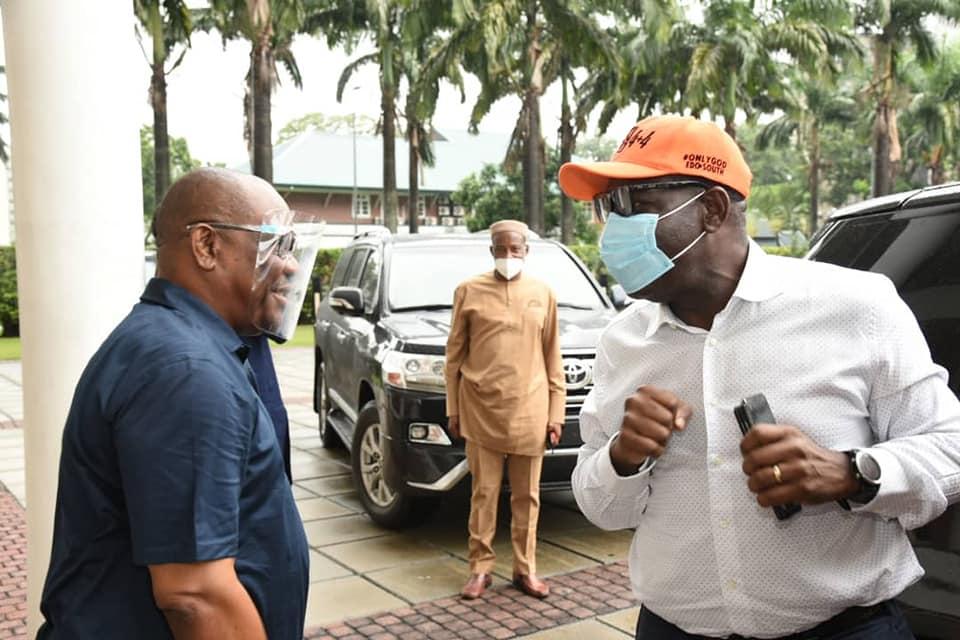 Obaseki godwin visits wike