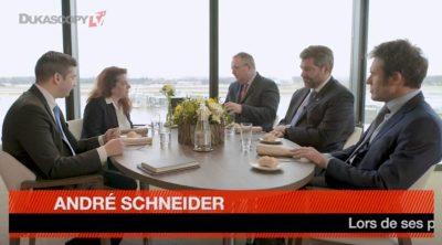 Dejeuner Aviation Civile Restaurant le Chef - André Schneider - Lorenzo Stoll - Stefano Albinati