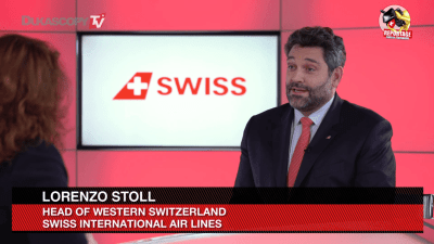 Lorenzo Stoll - Swiss International Air Lines - Innovation Aviation Civile