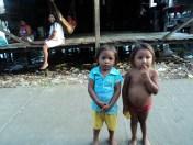 Niños warao. Fotografía: Maryelin Urquía
