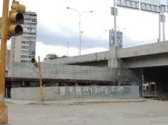 Antigua salida del transporte UCV