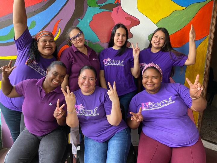 El equipo de UDIMUF durante la Covid-19 recibieron miles de llamadas de mujeres víctimas por la violencia de género en la zona atlántica hondureña
