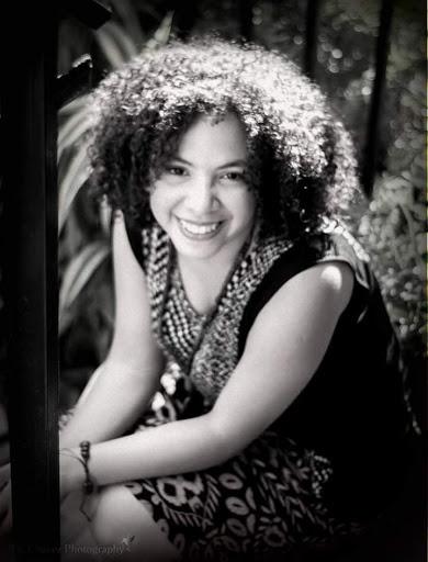 La teatrista hondureña, Laura Yanes.