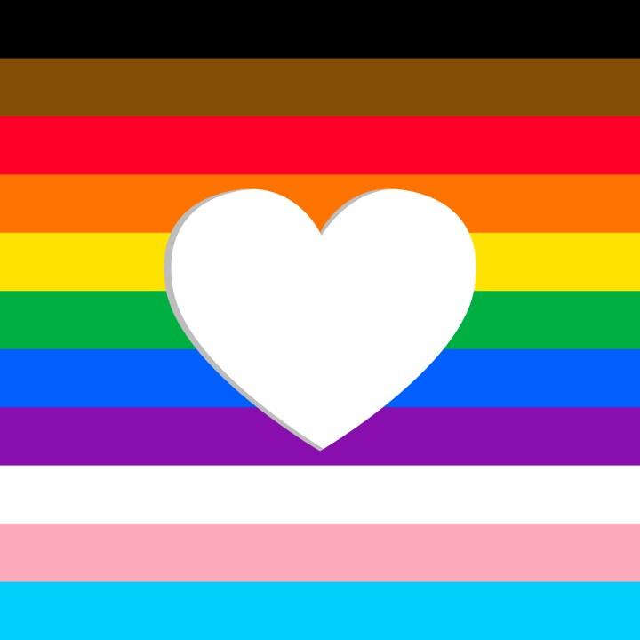 Los colores de la nueva bandera progresista LGBTIQA+