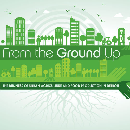 From the Ground Up Event Graphics