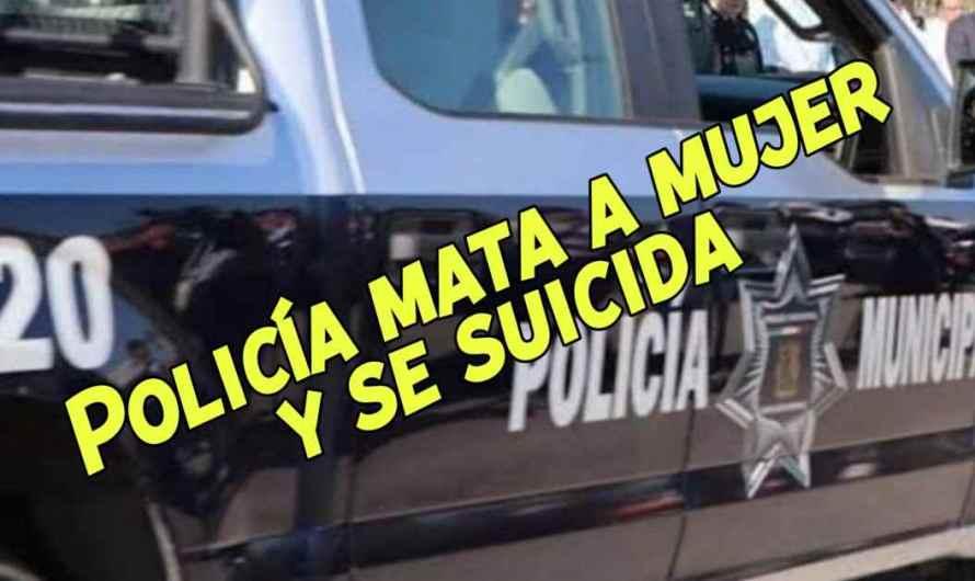 Policía mata a balazos a mujer; Se suicida con su arma de cargo.