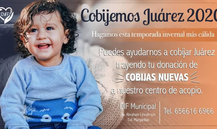 DIF Municipal: campaña Cobijemos Juárez