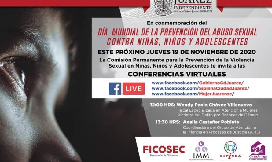 Gobierno Municipal extiende invitación; conferencias virtuales sobre prevención de abuso sexual infantil