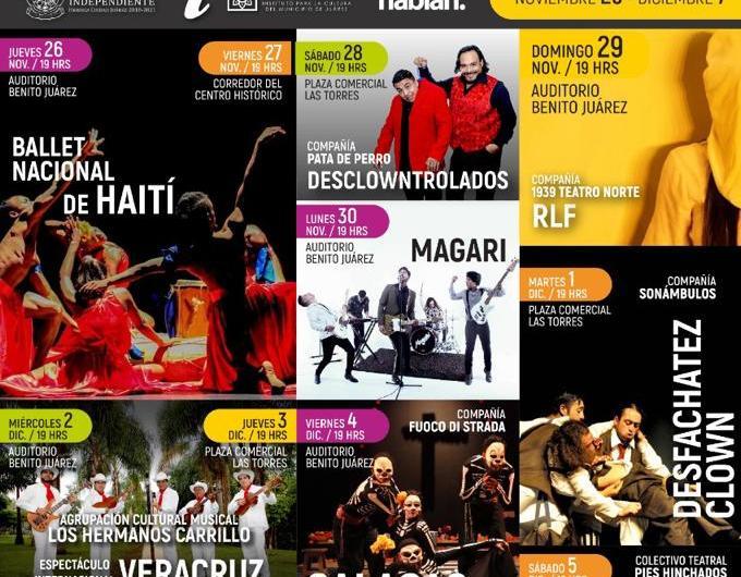 ¡Siempre sí!, IPACULT realizará XXIII Festival de la Ciudad