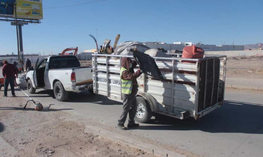 Servicios Públicos recolectó  963 toneladas de desechos durante Noviembre