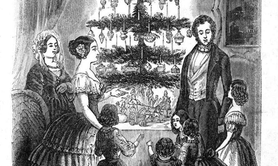 El primer árbol de Navidad en México