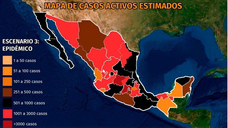 México ya supera las 110 mil muertes por coronavirus y 8 entidades superan en un 50% la ocupación hospitalaria
