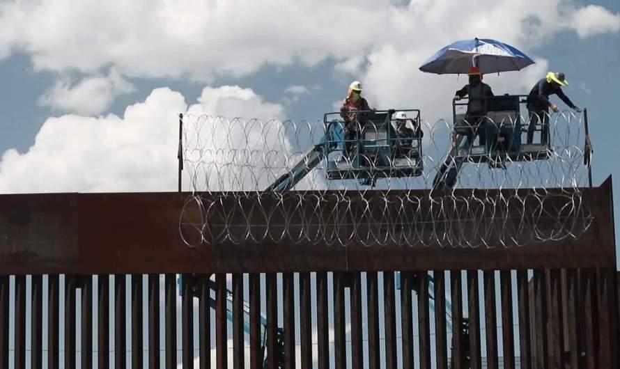 EE.UU. refuerza muro fronterizo con Ciudad Juárez