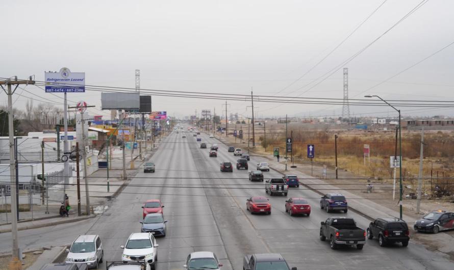 CIUDAD JUÁREZ: Aumentó circulación vehicular un 40%