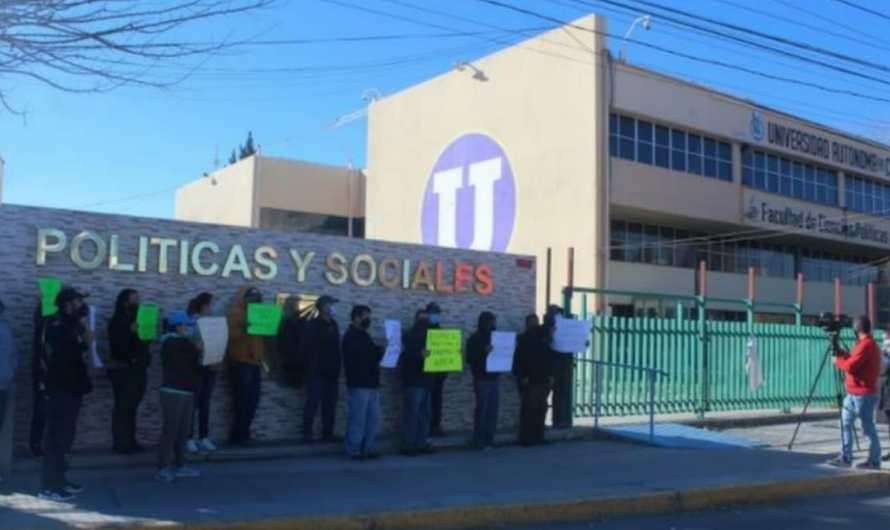 UACH en huelga; exigen rescate de pensiones