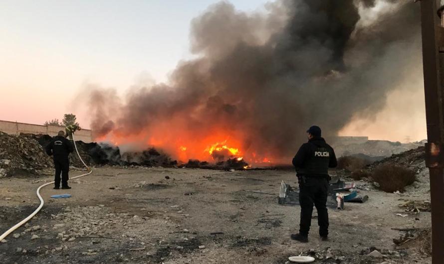 HÉROES SIN CAPA: Bomberos enfrentan cuatro incendios en distintos puntos de la ciudad
