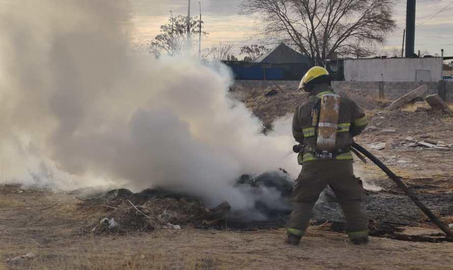 En las últimas horas hubo tres incendios, héroes sin capa siguen cuidándonos