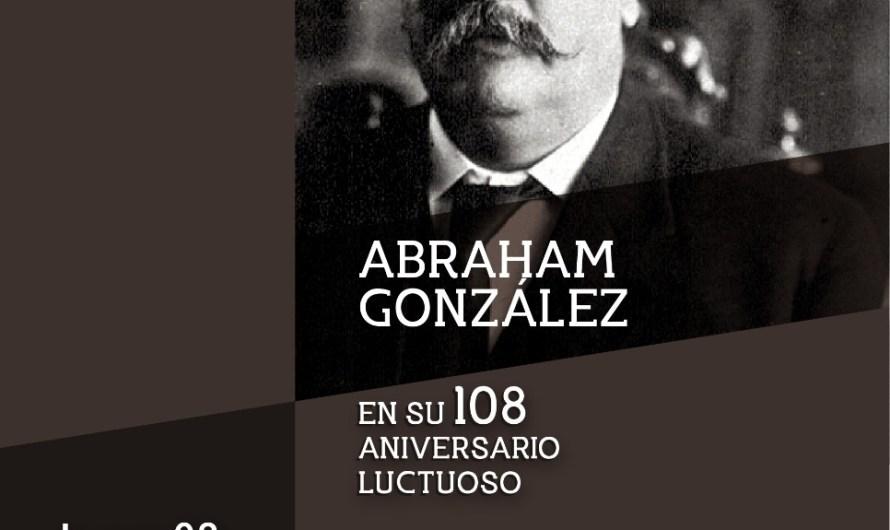 Hoy en programa virtual «Recreando la Historia», conoce la vida y obra de Abraham González