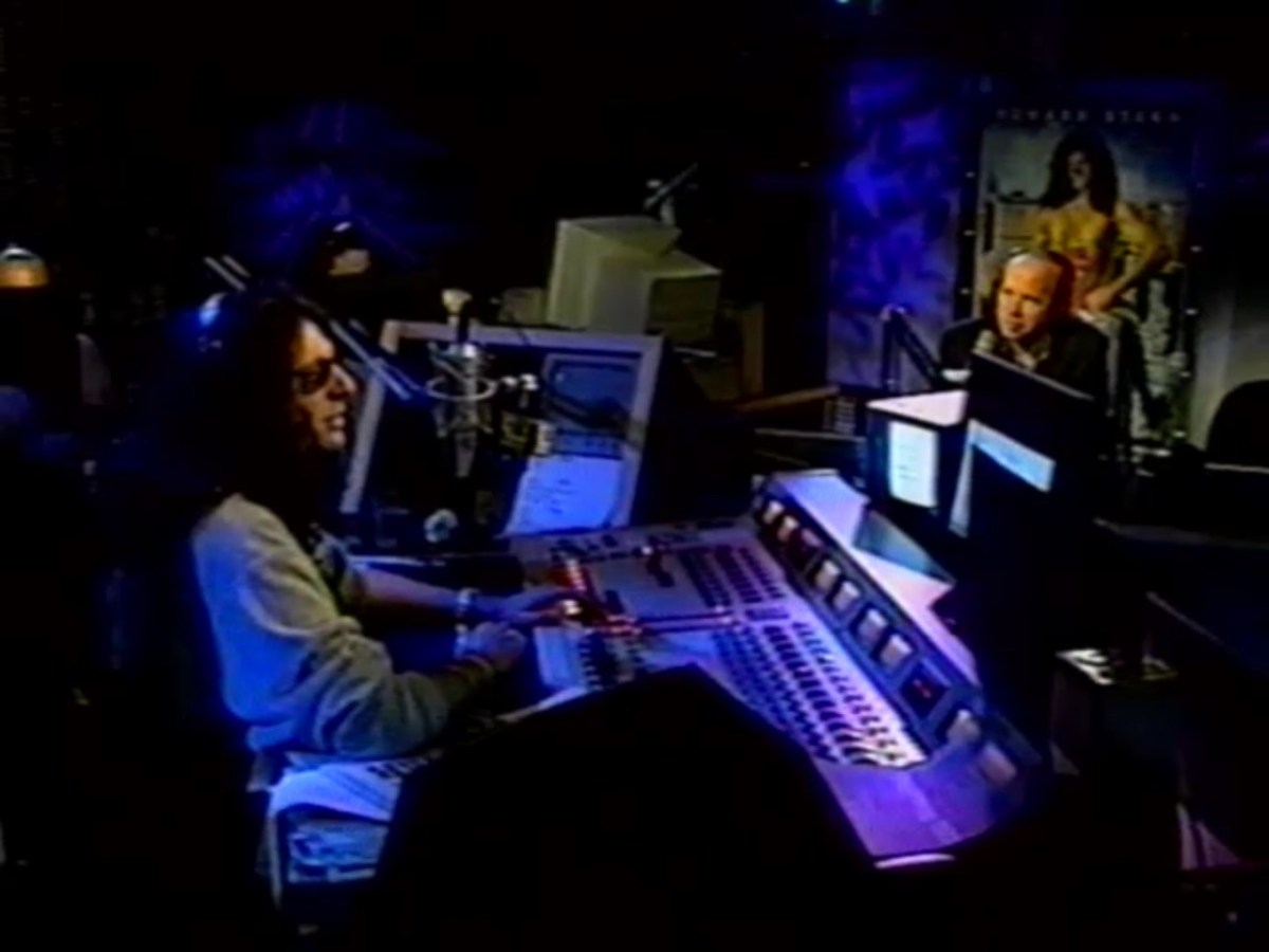 On the Howard Stern Show