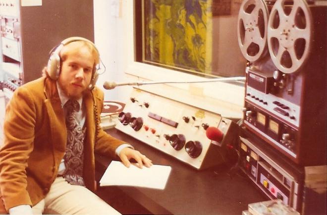 WEBN-FM News Director Mark Scheerer