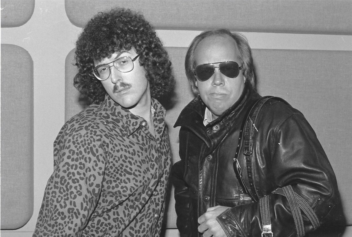 Weird Al and Mark Scheerer