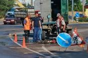 На водопроводе в Бердянске произошла новая авария. Фото ...