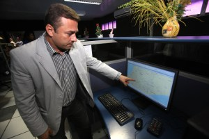 """""""O objetivo é melhorar o atendimento e garantir maior eficiência ao trabalho do Ciop"""", diz o coronel PM Heyder Calderaro Martins"""