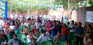 Um bom público participou do encontro e lançamento da pré-candidatura