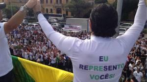 """""""para completar o time, também estará presente o deputado Jair Bolsonaro"""", disse Feliciano"""
