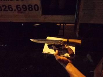 Armas usadas para ameaçar vítimas (Foto: MTE)