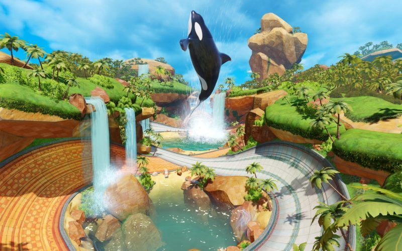 Team Sonic Racing - Whale Lagoon Map